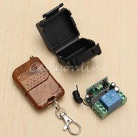 Wholesale New Arrival for DC V A CH Wireless RF Remote Control Switch Transmitter Receiver Working Modes Self locking