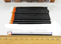 Wholesale Professional One Off Disposable Eyeliner Brush Wands Applicators Make Up Brushes Tools