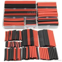 Wholesale B76 New Polyolefin Heat Shrink Tubing Tube Sleeving Wrap Wire Kit Cable A5