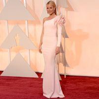 Reference Images best oscar gowns - Custom Made Gwyneth Paltrow Oscar Sheath One Shoulder Flower Best Dressed Evening Celebrity Dresses Mother Long Vestidos Gowns