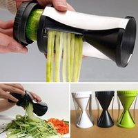 carrot grater - Kitchen gadgets Vegetable Spiral Funnel Cutter Vegetable Spaghetti Slicer Twister Graters Fruit Carrots Cucumber
