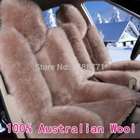 australian car seats - 100 Australian Pure Natural Wool Seat Cover Super Warm Fur Car Seat Cushion Promoiton High Quality car covers