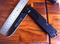 Wholesale EXTREMA RATIO nemesis mm HRC blade folding knife C Black Blade T6 alu handle knives
