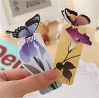 Wholesale New Butterfly Bookmark For Beautiful Birthday Gift Book Mark Christmas Gift
