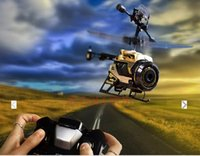 Wholesale Smart mini SPYCAM NANO foldable toy airplane aerial GHZ wireless infrared remote control camera megapixel P camera aircraft