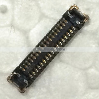Wholesale 100pcs New Original Sensor Flex Front Camera FPC Connector for iPhone S J1 Sensor Connector on Motherboard order lt no track