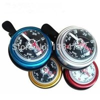 aluminum coasters - Large Compass Bell Bicycle Accessories Bells Bicycle Bell Aluminum Bell Coaster Death