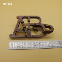 abc ring - Metal ABC Ring Solution Toy Unlock Puzzle Magic Props Intelligence Toys Adults