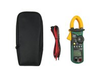 Wholesale Mastech MS2108A Multimeter Voltage Frequency Meter Tester Backlight Auto Range DC AC Current Digital Clamp Meter