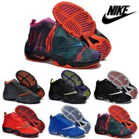mens sports gloves - Nike Zoom Flight The Glove Gary Payton s Basketball Shoes For Men Original High Quality Boots Mens Cheap Sports Shoes Free Shippin