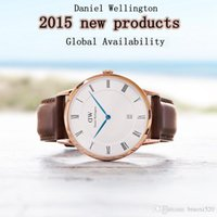 Wholesale 8 Colors Brand Luxury NEW Daniel Wellington Watches DW Watch Men Women Leather Strap Sports Military Quartz Watches Relojes Mujer