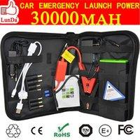 bank terminals - Portable v car battery jump starter mah mini mobile phone laptop power bank battery terminal booster