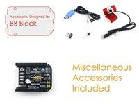 beaglebone board - BeagleBone Black Kit Accessories Pack E Expansion Board Cape USB Camera Cables for Connecting ARM Cortex A8 Development Board