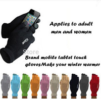 Wholesale Fashion IGlove Screen Touch Gloves Capacitive Gloves With Retail Package Unisex Winter for Iphone S Plus S Smart Phone Touch ipad DHL
