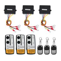 Wholesale 3 Wireless Winch Remote Control Kit V for Truck Jeep SUV ATV