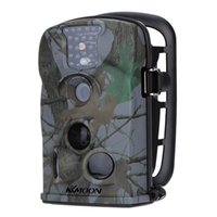 Wholesale KKMOON MP P HD nm IR Waterproof Game Camera inch LED Screen Security Scouting Trail Camera with GB SD Card dhl S449