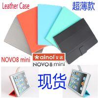 ainol dream - 8 quot Universal Tablet Stand Foldable Leather Case For ainol inovo8 ainol novo dream ainol novo mini Printed Tablet Wallet