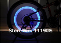 auto led wheel light - Freeshipping EMS LED Flashing roller LED Tyre Valve Cap Light Car Bike Motor led Wheel Light auto tire valve core light