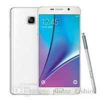 Wholesale Note Note5 Octa Core G LTE GB RAM GB ROM Fingerprint Scanner Android Lollipop inch MP Camera Smartphone