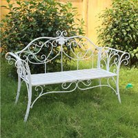 bench manufacturers - Metal iron manufacturers double chair iron outdoor double chair outdoor leisure chair metal garden park bench