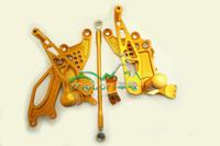 Wholesale motorcycle foot pedal CNC retrofit pedal fits honda CBR1000RR