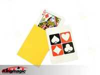 Wholesale the card which you like magic props tricks Close up magic props G0327