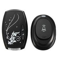 Wholesale EU Plug in Waterproof AC V Portable Digital LED M Range Wireless Remote Control Cord Song Music Home Door Bell Doorbell