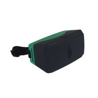 5.8 - 3D VR Glasses D Virtual Reality Glasses for Any Phones under inches Plastic Google Cardboard Green Color