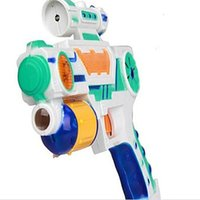 Wholesale Electric Toy Gun with Sound Cartoon Projection Random Color