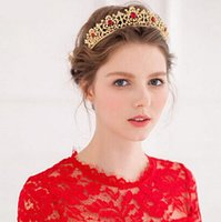 Wholesale Fashion bride Tiaras Crowns bride diamond jewelry The bride married crown ACTS the role of hair wedding accessories