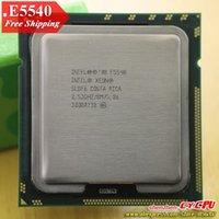 Wholesale Intel Xeon E5540 CPU processor GHz LGA1366 MB L3 Cache Quad Core server CPU there are sell X CPU