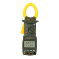 Wholesale MASTECH MS2201 True RMS Auto Range Digital Power Clamp Meter Wattmeter Power Factor Meter Ammeter Voltmeter