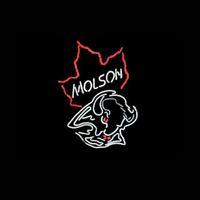beer map - MOLSON CANADA MAP NEON LIGHT SIGN HANDICRAFT BEER BAR PUB REAL GLASS TUBE GAMEROOM x14 quot