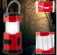 Wholesale 185 Lumens Waterproof Portable Outdoor Camping Lantern solar Lamp Rechargeable Emergency Tent Light with USB Hook
