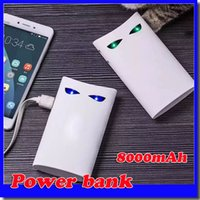 batman bank - New mAh Batman Power Bank Charger External Backup Battery With Retail Box For iPhone iPad Samsung Mobile Phone