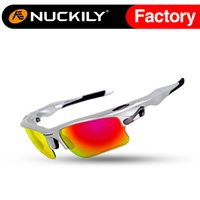 Wholesale Nuckily Fashionable cycling eyewear sunglasses bike riding sunglasses Hot selling with high quality cycling sport sunglasses