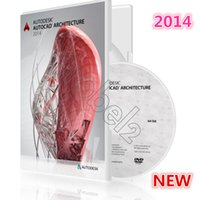 Wholesale Autodesk AutoCAD Architecture Windows English full version bit bit DVD box