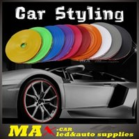 Wholesale Car Styling StickersAuto Accessories Wheel Rim Protector Glue For Motorcycle Color Meters