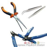 animal tweezers - 3D Metal Puzzles Tools set tweezers cutting nippers long nose pliers