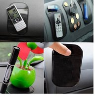 Wholesale 2015 new Anti Slip Mat Non Slip Car Dashboard Sticky Pad Mat Powerful Silica Gel Magic Car Sticky Pad