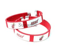 Cheap Wholesale-hot selling heat Basketball team bracelet bangles ball fan products for adults 100pcs lot