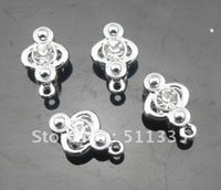 Wholesale mm rhinestone slide hang charms DIY accessories fit mm wristband