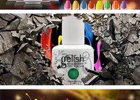 Wholesale Gelish Long lasting Soak Off LED UV Gel Nail Polish Nail Art Colors Nail Polish Foundation Top It Off