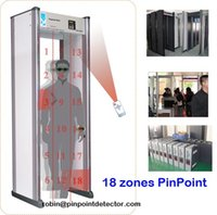 Wholesale New Arrival Zones Walkthrough Metal Detector with Display Areas PD5000C