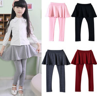 arrive pants - New Arrive Spring girl legging Girls Skirt pants Cake skirt girl baby pants kids leggings Skirt pants Cake skirt in stock