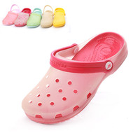 Wholesale Summer Chameleon classic Mary Jane shoes jelly Sandals ultra soft hole ASH