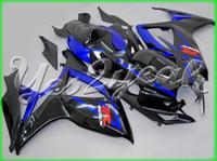 Precio de Suzuki gsxr750 fairing-NUEVOS 3 regalos + Asiento Cowl ABS carenados Kits para SUZUKI GSXR 600 750 K6 06 07 GSXR750 GSXR600 GSX R600 R750 2006 2007 Ventas calientes frescos azul negro