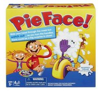 Wholesale Pie Face Game Hasbro Gaming Children Novelty interest paternity toys filial family toys Rocket Catapult Game Consoles