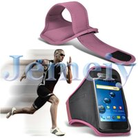 atom mobile phone - Mobile Phone Fabric Canvas Running Arm band Case Holder For Explay Atom Runners Love Armband Cover For Gym Sports Exercise