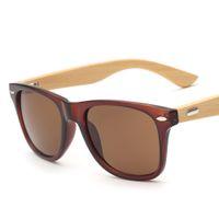 bamboo eyeglass frames - 2016 Classic Handmade Bamboo Sunglasses For Men Women Fashion Retro Wood Eyeglasses Square Wooden Frame Glasses Top Quality Goggles S731